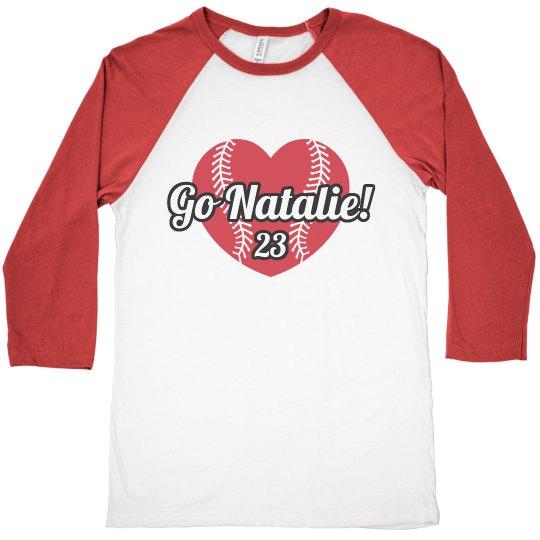 Softball Mom Pride Shirt With Custom Name and Number