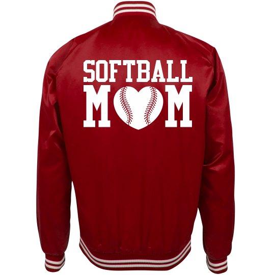 Softball Mom Trendy Bomber