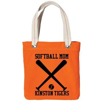 Softball Mom w/ Back