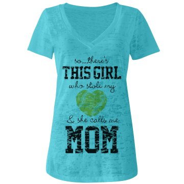Softball Mom's Heart
