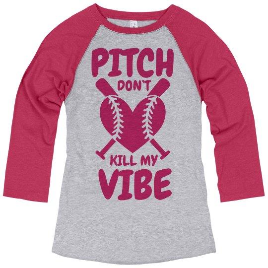 Softball Player Vibes