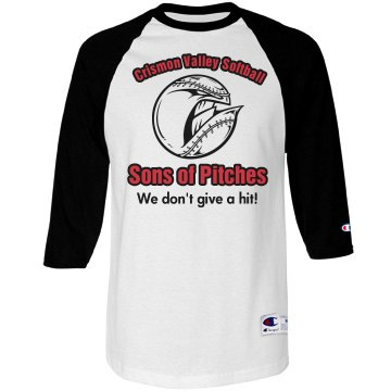 Softball Team Pitches Tee
