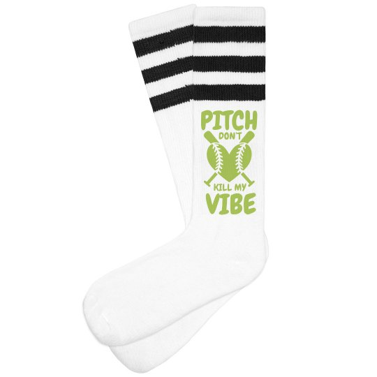 Softball Vibe Socks