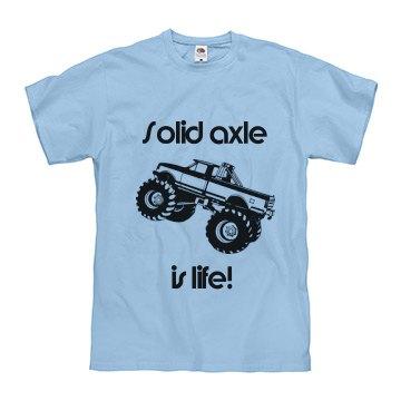 Solid axle monster trucks