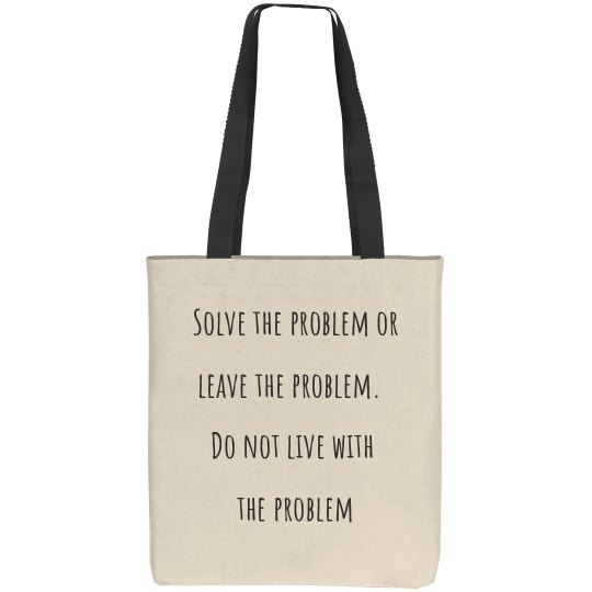 Solve the problem or leave the problem
