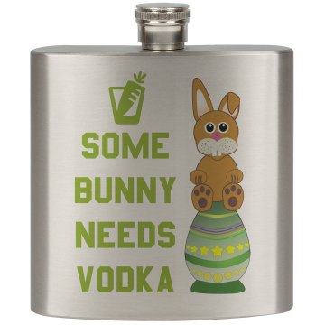 Some Bunny Needs Vodka Lime Green