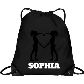 Sophia cheer bag