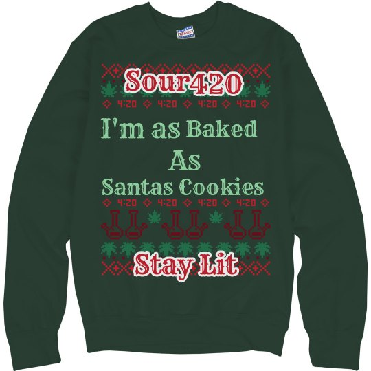 Sour Ugly Christmas Sweater