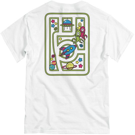 Space Play Mat Tee
