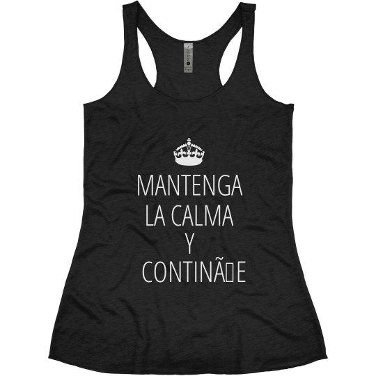Spanish Keep Calm