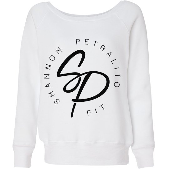 SPfit Ladies Wideneck Slouchy Sweatshirt