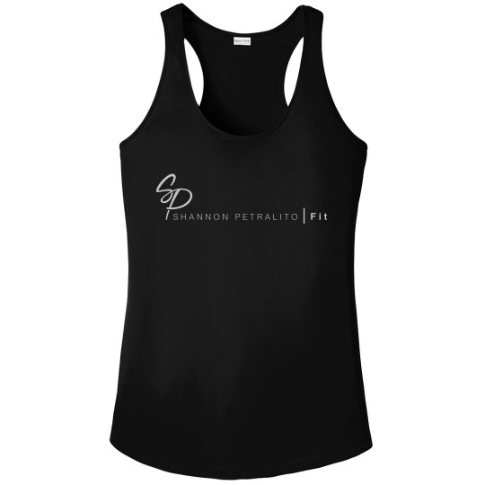 SPFIT Performance Tank Black / White Logo