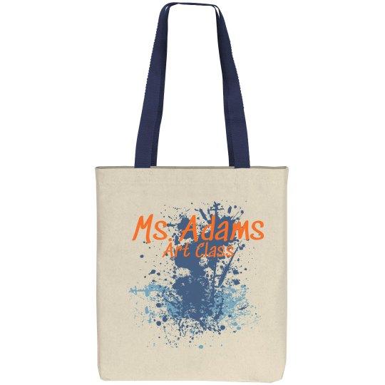 Splatter Teacher Bag
