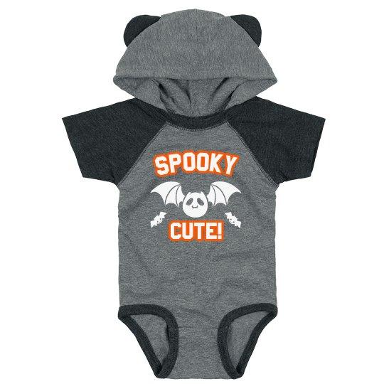 Spooky Cute Hooded Bodysuit