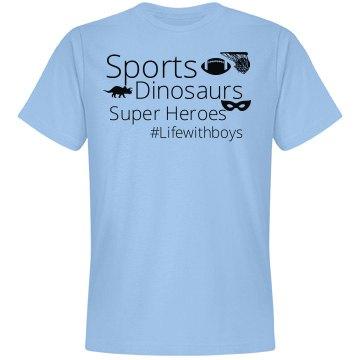 Sports, Dinos, Superheros (Soft Unisex)