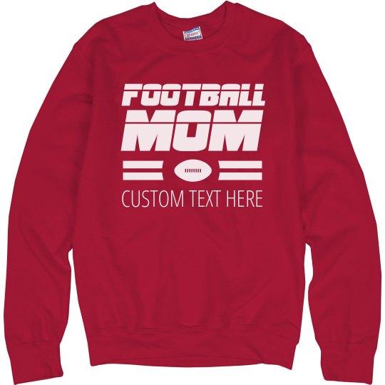 Sports Fan Football Mom
