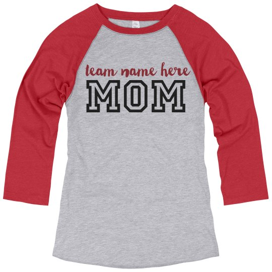 Sports Mom Custom