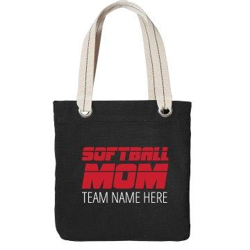 Sports TV Softball Mom Custom