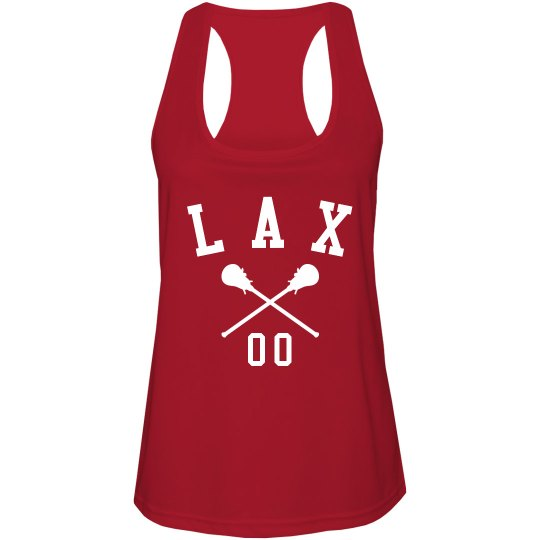 Sporty Custom Lacrosse Number