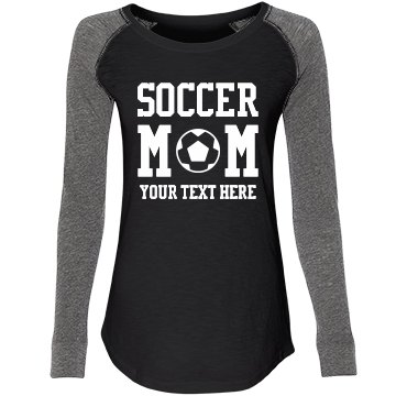 Sporty Customizable Soccer Mom