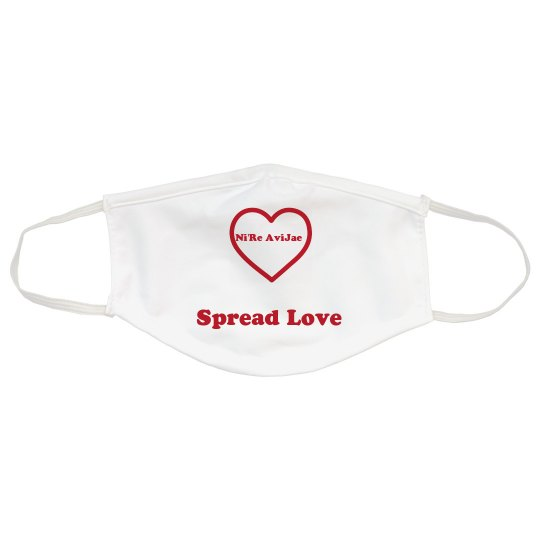 Spread Love Face Mask