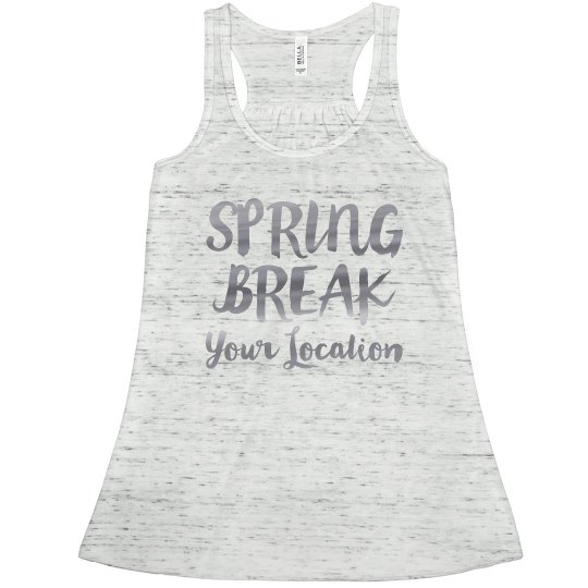 Spring Break Custom Neon Metallic