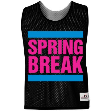 Spring Break LAX Pinnie