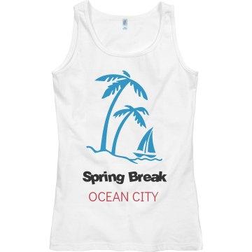 spring break ocean city
