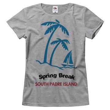Spring break south padre