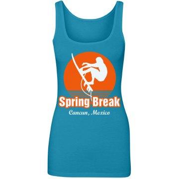 Spring Break Surfer Tank