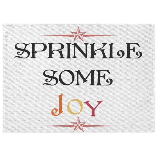 Sprinkle some joy