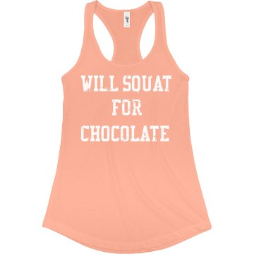 Squat for Chocolate