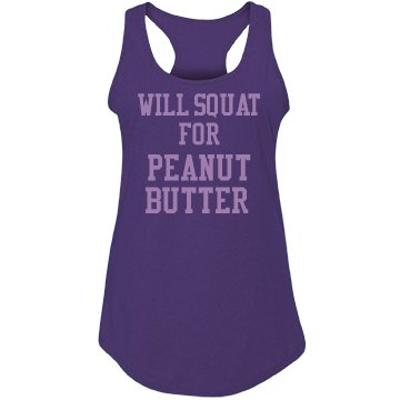 Squat for Peanut Butter