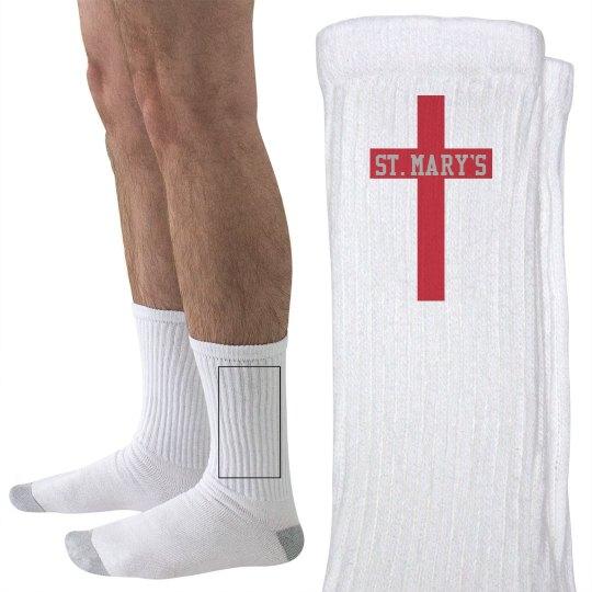 St. Mary's Socks