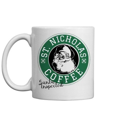 St Nicholas Coffee Mug
