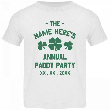 St. Paddy Party Tee