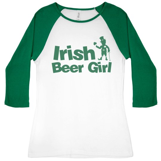 St. Patrick's Beer Girl