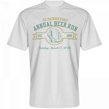 St. Patrick's Beer Run
