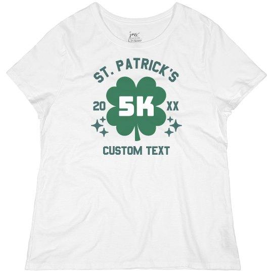 St. Patrick's Custom Running Tee