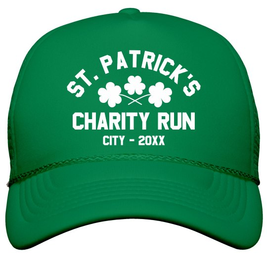 St. Patrick's Day Charity Run Custom Hat