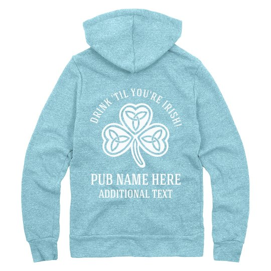 St Patricks Day Custom Irish Pub