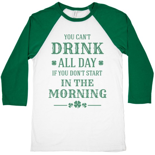 St Patricks Day Drinking All Day