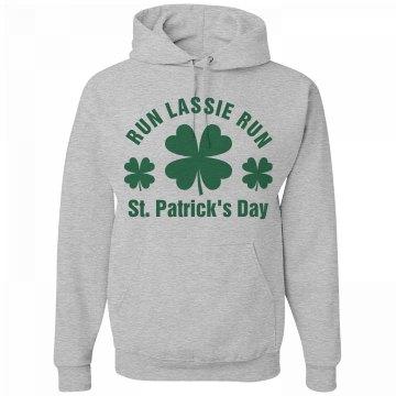 St Patricks Day Run Custom Name