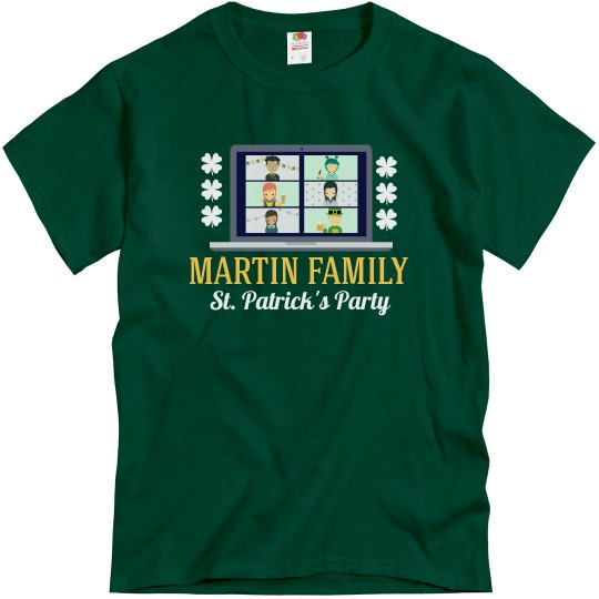 St. Patrick's Virtual Family Tee