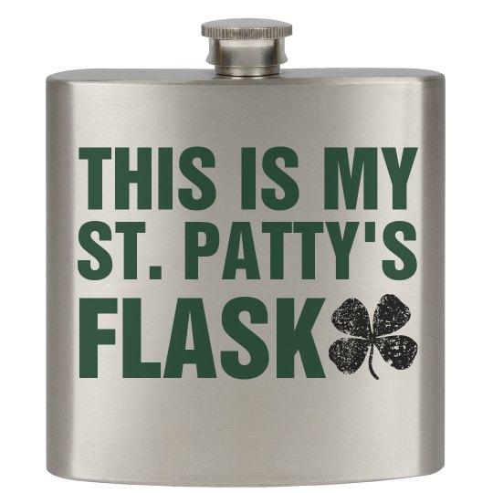 St. Pat's Lucky Flask
