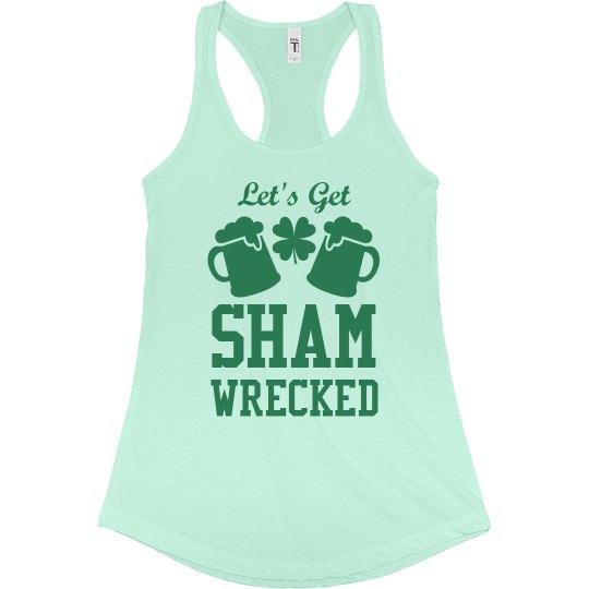 St. Pat's Shamwrecked Girl