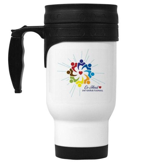 Stainless Steel Mug Logo Only