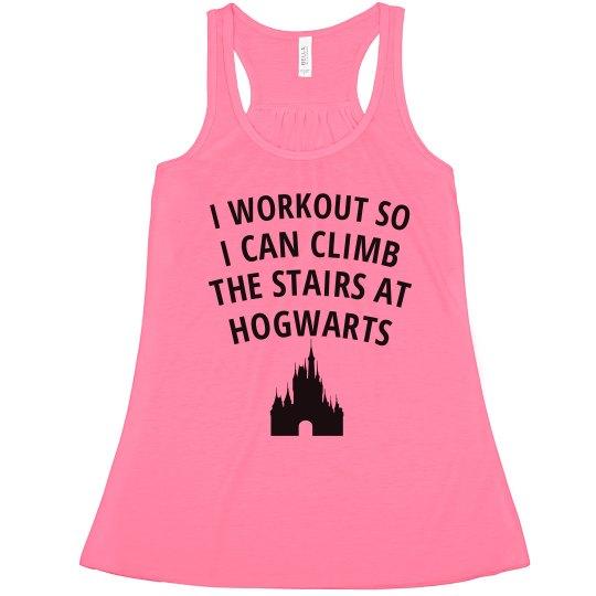 Stairs at Hogwarts