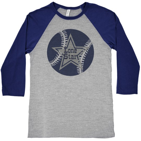 Star Baseball Raglan
