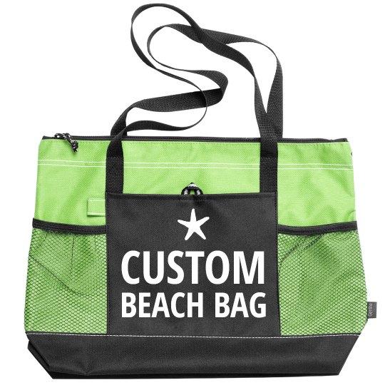 Star Fish Custom Text Beach Gear